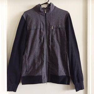 Lululemon Two Tone Grey & Black Jacket Size L